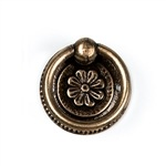 round pull antique brass furniture handle n8