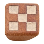 furniture knob handcraft stoneware 30x30mm 337b0