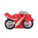 blue motorbike matt ceramic kids children furniture handle 355az