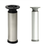 round legaluminum, shiny finish legs furniture accesories n367