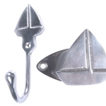 polished aluminium sailboat hook with plate 512a2