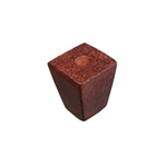 rust iron handle knob 20x20mm 5974x