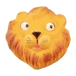 hand painted ceramic lion 634c0