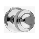 round door knobs 85mm base satin nickel finish manufactured in zinc alloy pom9011