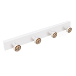 hanger knobs white painted wood knobs big valvle furniture hook retro vintage design tienda precio venta online 9030bl
