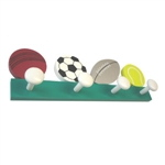 wooden hanger sports balls 912ve