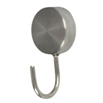pack 2 perchass inox con iman extra fuerte gancho alza panos 942in