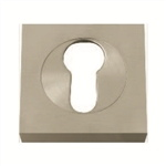 5mm square escutcheon keyhole door chrome satin chrome finish manufactured in brass boc885cr