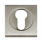 square keyhole 50x50mm nickel satin boc945