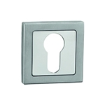 square keyhole 50mm nickel satin boceco