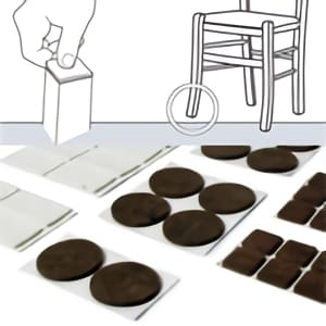 [:es]Fieltros adhesivos[:en]Adhesive felts for chair legs[:fr]Patins de feutre pied chaise[:]