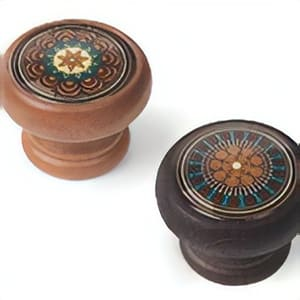 Kaleidoscope Style Furniture Knobs